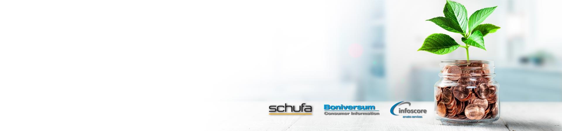 Auskunft Schufa & Co Slider