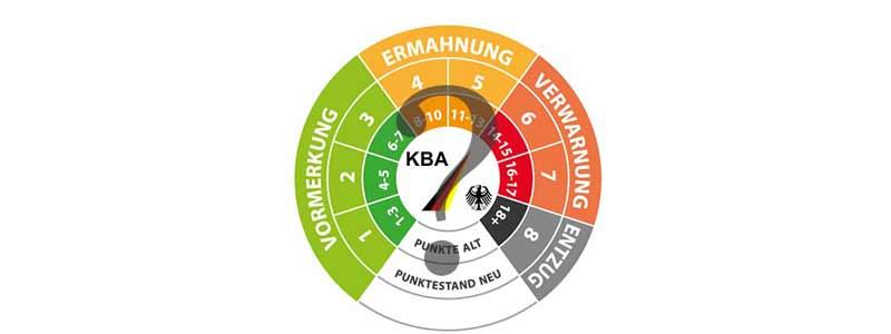 mobile header Punkte Flensburg abfragen